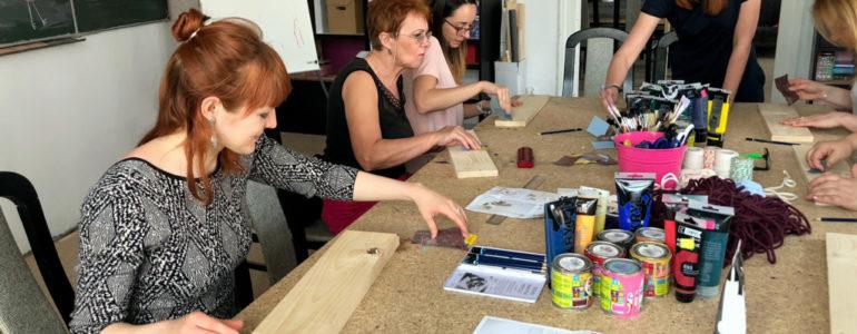 Kobiety pokazały, że potrafią tworzyć półki – FILM, FOTO