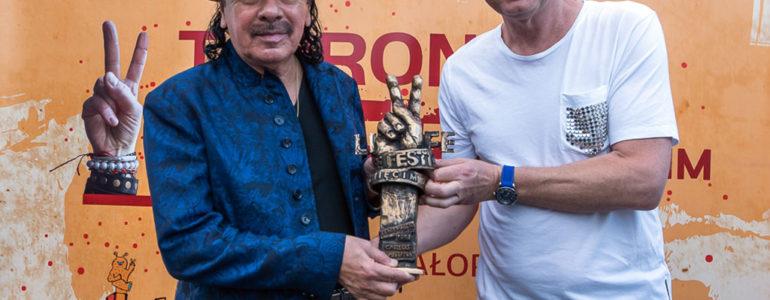 Nagroda Peacemakera dla Carlosa Santany – FILM