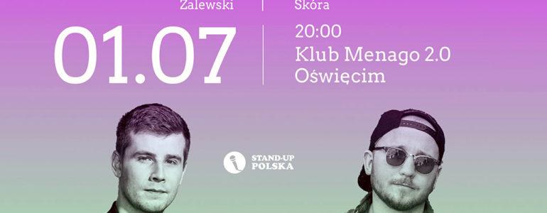 Stand-up w Menago 2.0: Bartosz Zalewski i Damian Skóra