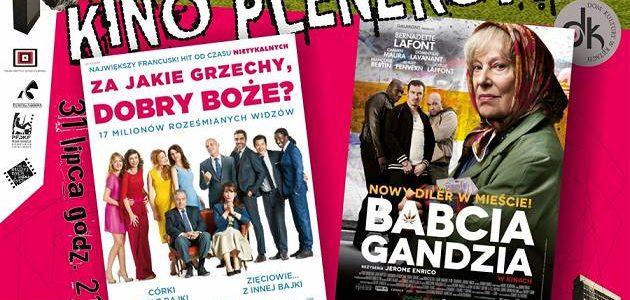 Kino plenerowe w Kętach