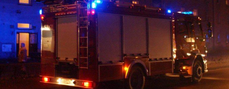 Płonął dom w Osieku