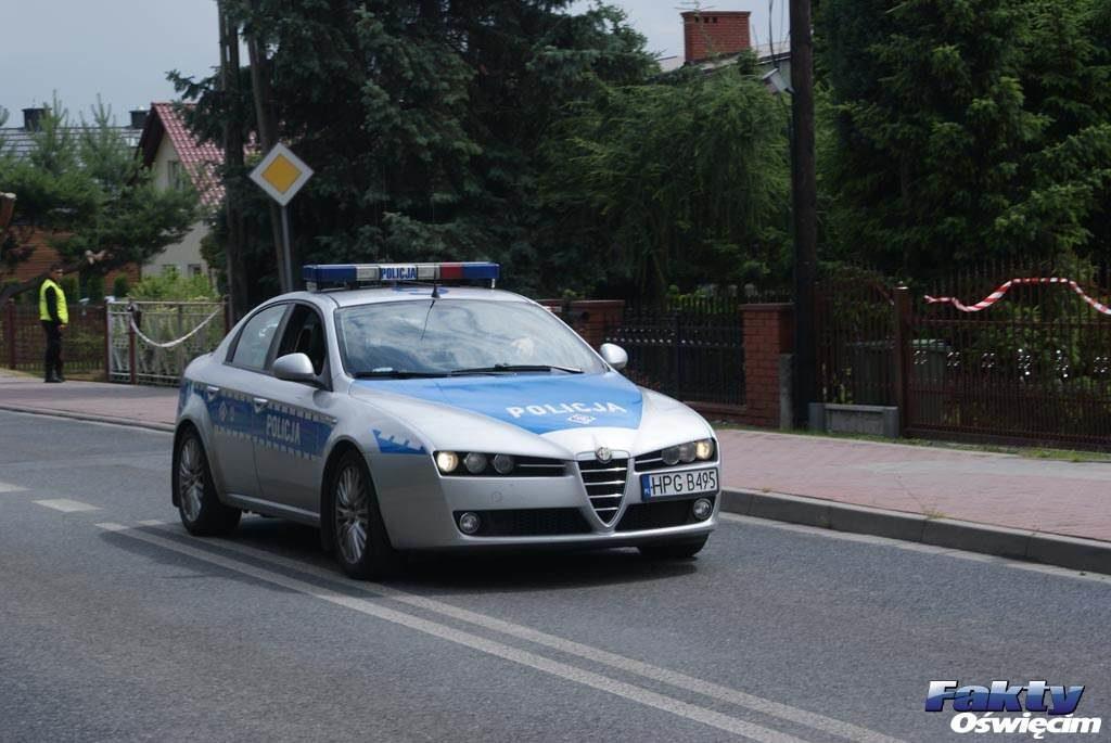 Do jednego z wypadków doszło na ulicy Zaborskiej w Oświęcimiu
