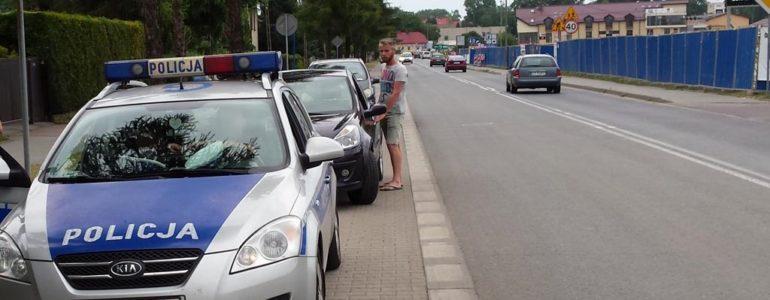 Kobiece trzy promile za kierownicą