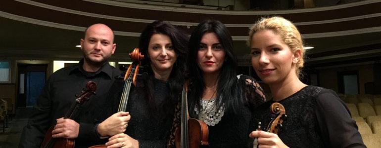 Kwartet Kammerstyll w szkole muzycznej