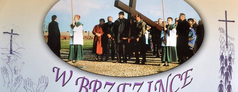 Droga krzyżowa w byłym obozie Birkenau