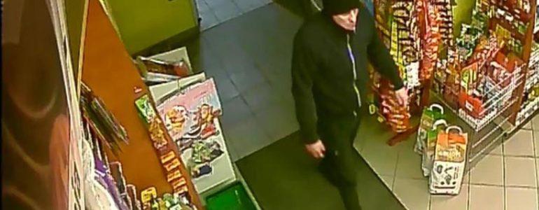 Bandyta z nożem zaatakował trzeci raz