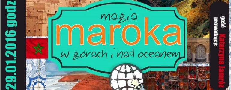 Magia Maroka w Klubie Obieżyświatów