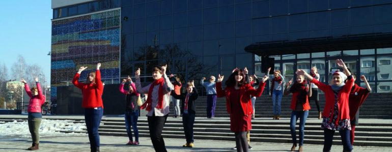 One Billion Rising w Oświęcimiu