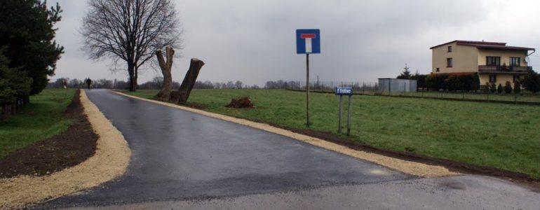Droga do domu premier Szydło zyskała asfalt