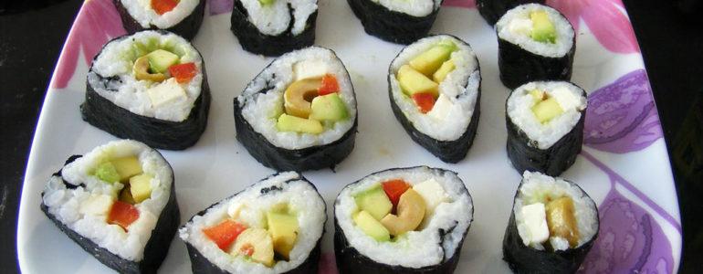O sushi i o tym, czy przeszkadza w odchudzaniu