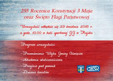 Obchody święta Konstytucji 3 Maja Fakty Oświęcim