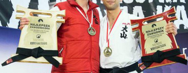 Wiktor Czopek najlepszym zawodnikiem Mistrzostw Polski w OYAMA Karate