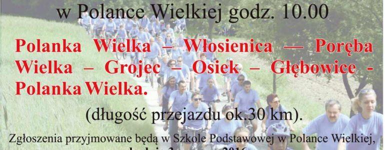 VI Rodzinny Rajd Rowerowy w Polance Wielkiej