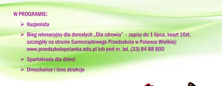 Bieg dla zdrowia w Polance