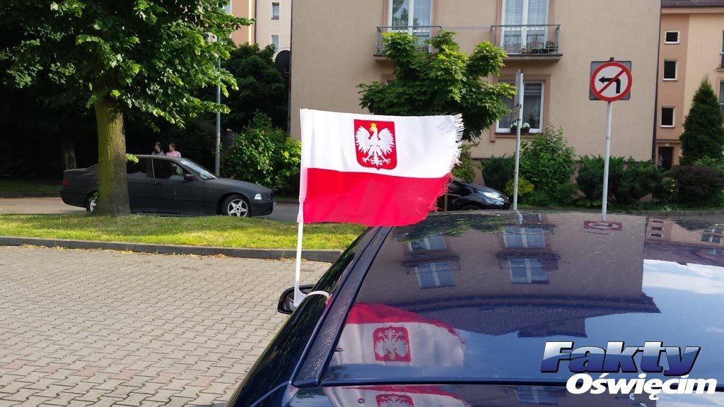 Oświęcim, flaga, barwy, patriotyzm, felieton