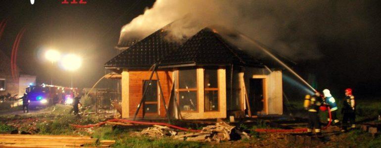 Płonął dom w Porębie Wielkiej – FILM, FOTO