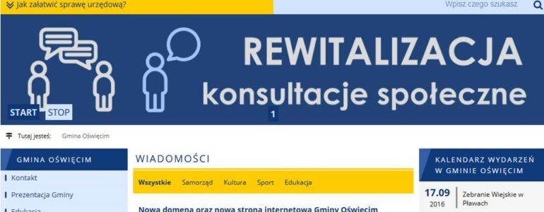 Po nowemu w gminie Oświęcim