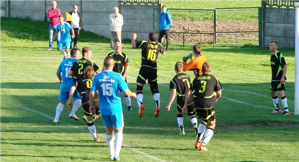Zawodnicy Soły zeszli z boiska podczas meczu z LKS Bobrek. Przegrywali wtedy 2:4.