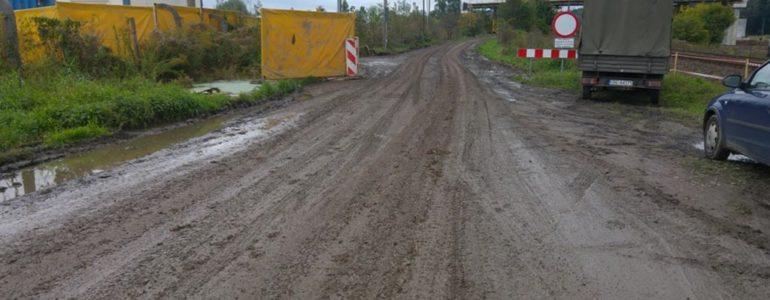 Będzie ścieżka dla pieszych na czas budowy