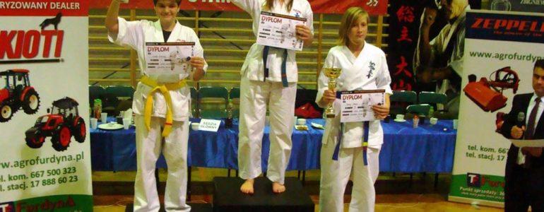 Julia Chmura mistrzynią oyama karate