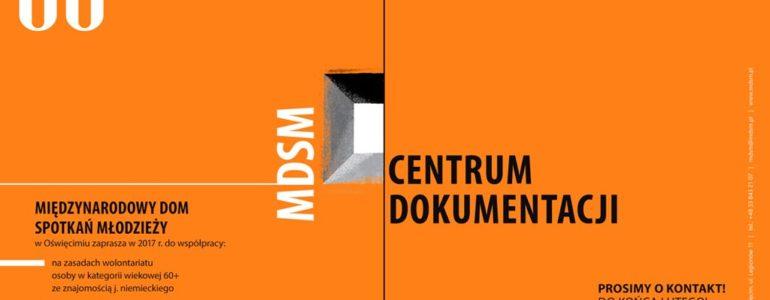 MDSM zaprasza wolontariuszy 60+