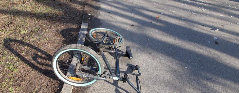 Urazy głowy i miednicy u potrąconego rowerzysty – AKTUALIZACJA, FOTO
