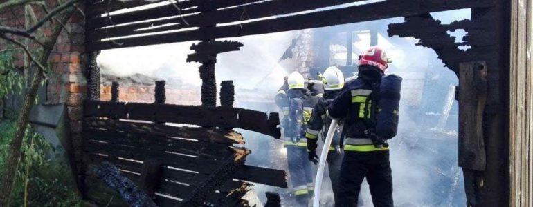 Spłonął cały dom – FOTO