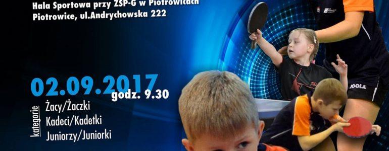 7. Otwarte Mistrzostwa Gminy Przeciszów w Tenisie Stołowym