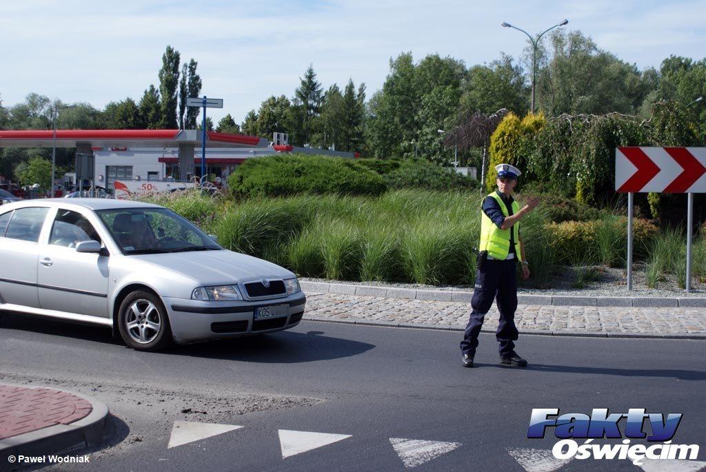 Osiek, Polanka Wielka, drogówka, policja, prędkość, radar, przekroczenie