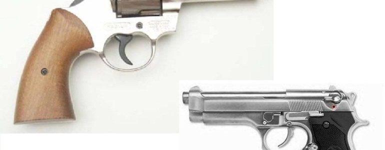 Broń na oświęcimskim targowisku