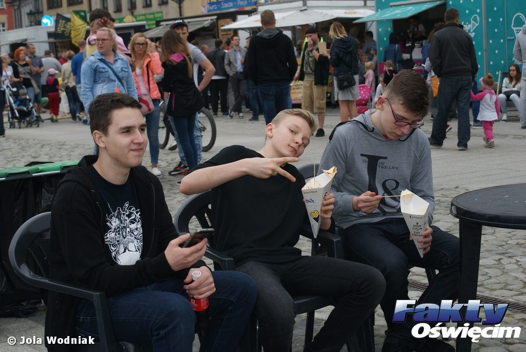 Oświęcim, food truck, Food Fest, Lato w Mieście, Letni Festiwal na Rynku