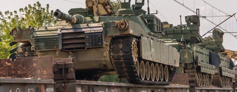 Kolejny transport wojskowy – FOTO