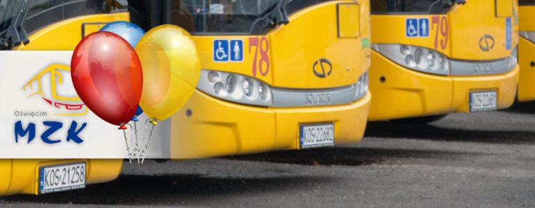 Urodzinowy autobus na Święto Miasta