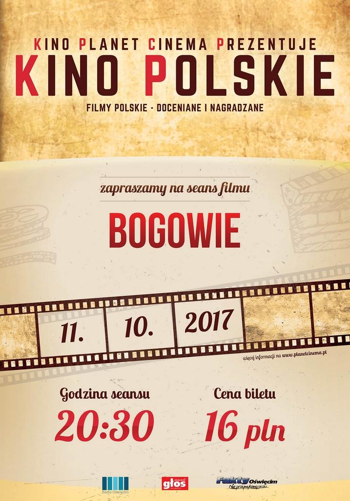 Kino Polskie to projekt, zainicjowany głównie dla widzów którzy mają ochotę zapoznać się z naszym dobrym polskim filmem. Teraz dostępne w Planet Cinema w Oświęcimiu.