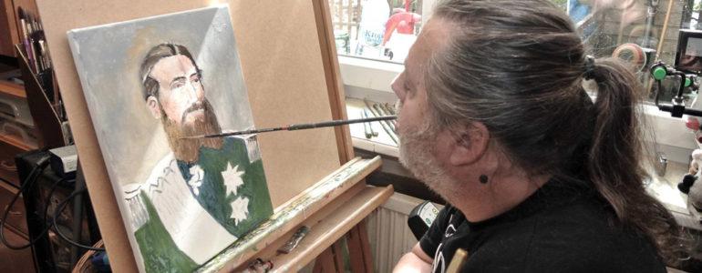 Wystawa malarstwa Jerzego Omelczuka