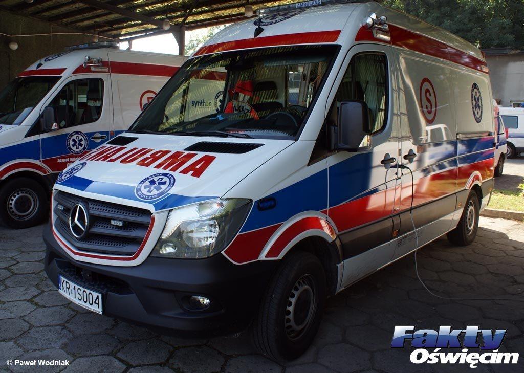 16-latek z urazem głowy trafił do oświęcimskiego szpitala. Nieprzytomny młodzieniec leżał w Bobrku pod mostem na Wiśle.