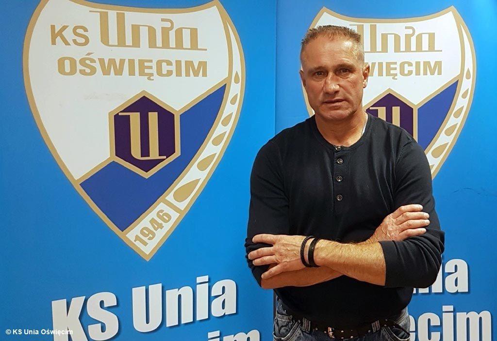 Czech Jiri Sejba jest od dzisiaj trenerem hokejowej drużyny KS Unia Oświęcim. Przed południem uczestniczył już w pierwszym treningu.