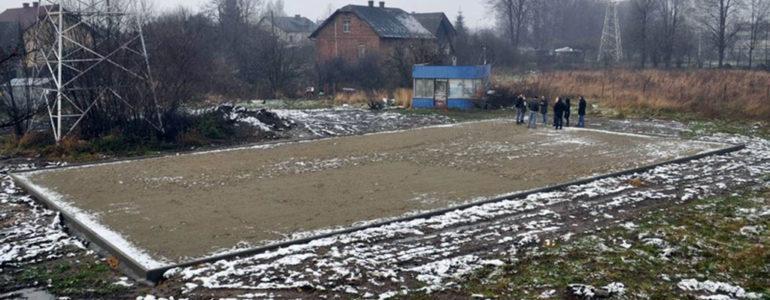 Powstało boisko w Broszkowicach