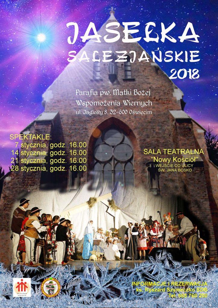 Kilkudziesięciu aktorów zagra w tradycyjnych jasełkach salezjańskich w Oświęcimiu. Pierwszy występ można zobaczyć dzisiaj o godzinie 16 do Sanktuarium Matki Bożej Wspomożenia Wiernych.