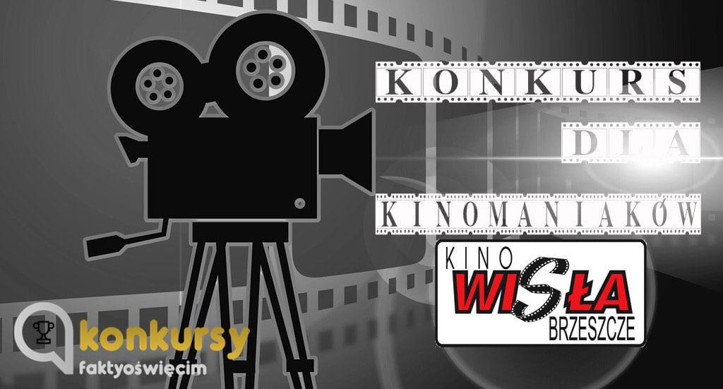 W każdy piątek losujemy zaproszenia do kina Wisła znajdującego się Ośrodku Kultury w Brzeszczach.