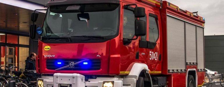Alarm i ewakuacja w Kauflandzie