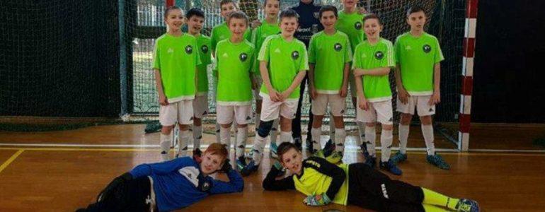 Młodzicy LKS Jawiszowice wygrali drugi zimowy turniej w Rajsku