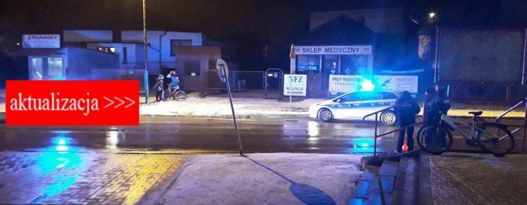 Szedł z nożem na policjantów – AKTUALIZACJA