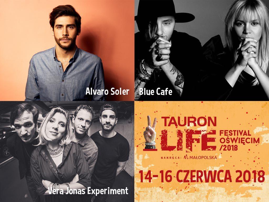 Znamy już kolejne gwiazdy, które, oprócz Carlosa Santany, wystąpią na Tauron Life Festiwal Oświęcim. Festiwalowi patronują m.in. Fakty Oświęcim.