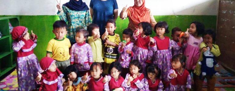 Zbierają dary dla kolegów z Indonezji