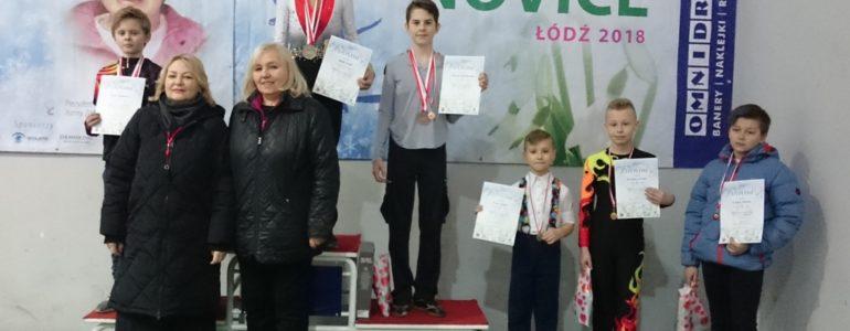 Amelia Konik i Jakub Lofek mistrzami Polski novice