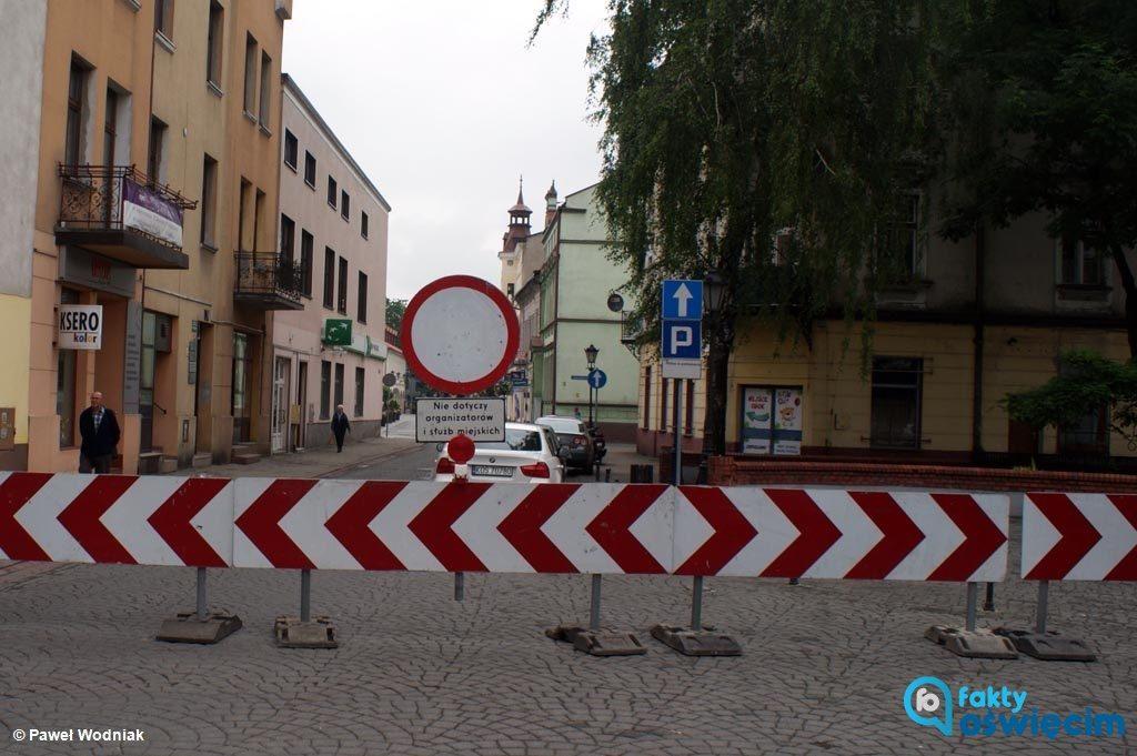 Rynek Główny w Oświęcimiu będzie w sobotę i niedzielę zamknięty dla ruchu drogowego. W tych dniach w centrum miasta odbędzie się Jarmark Kasztelański.