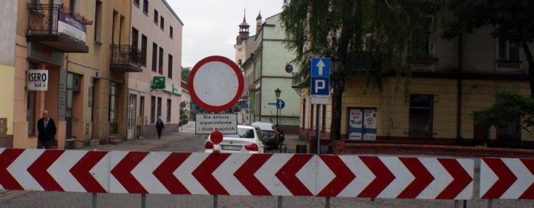 Serce miasta zamknięte dla ruchu drogowego