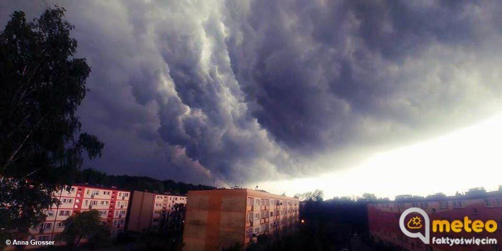 W Małopolsce Zachodnie, w tym w powiecie oświęcimskim, obowiązuje pierwszy stopień zagrożenia pogodowego. Mogą się zdarzyć burze i nawałnice.