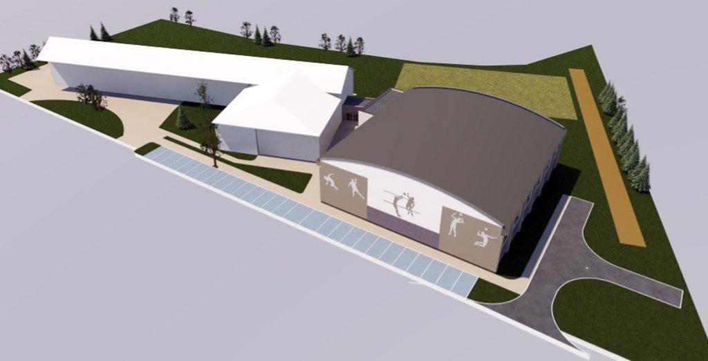 Zbliża się do etapu końcowego budowy sali gimnastycznej w Kętach Podlesiuprzy zespole szkół nr 3 w Kętach Podlesiu wraz z niezbędną infrastrukturą techniczną z zagospodarowaniem przyległego terenu, instalacjami i przyłączami.